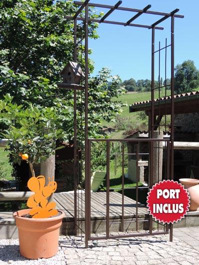 Portillon jardin for Petit portillon jardin