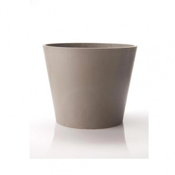 Pot Rond Green Mineral Amsterdam 60x49cm gris