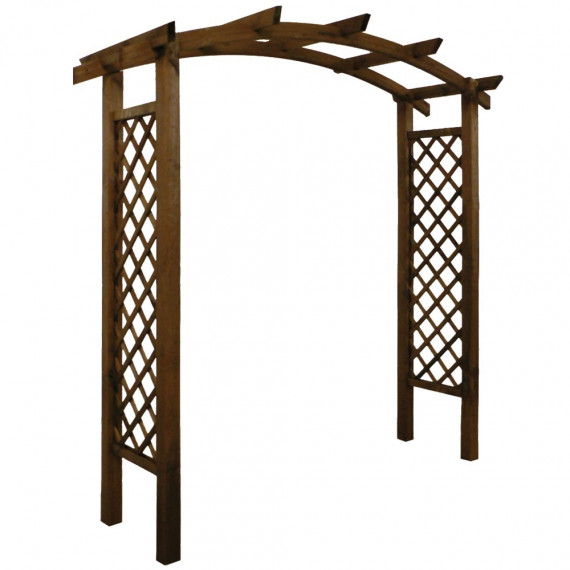 Pergola double arc AKEBIA