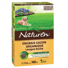Engrais gazon organique